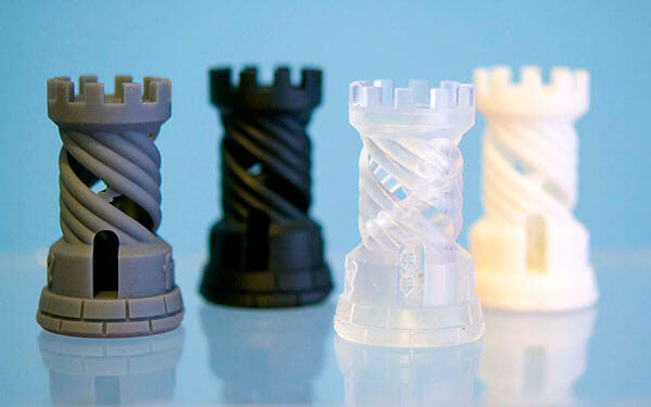 New Developments in Light Curing 3D Printing Processes