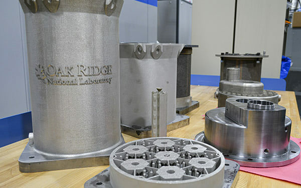 ORNL 3D printed steel reactor core featured image
