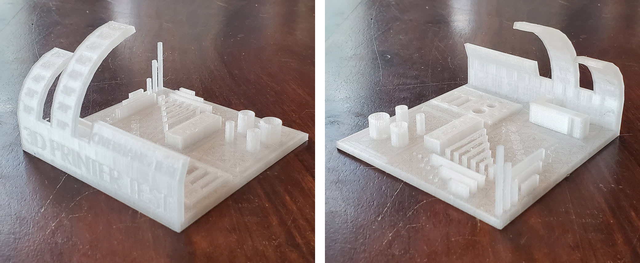 PETG all in one 3d printer test