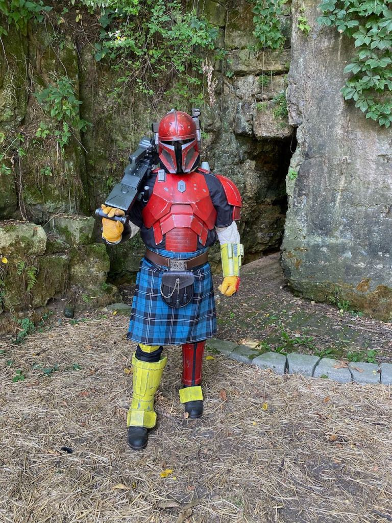 Serial Kilter 3D printed Mandalorian Armor