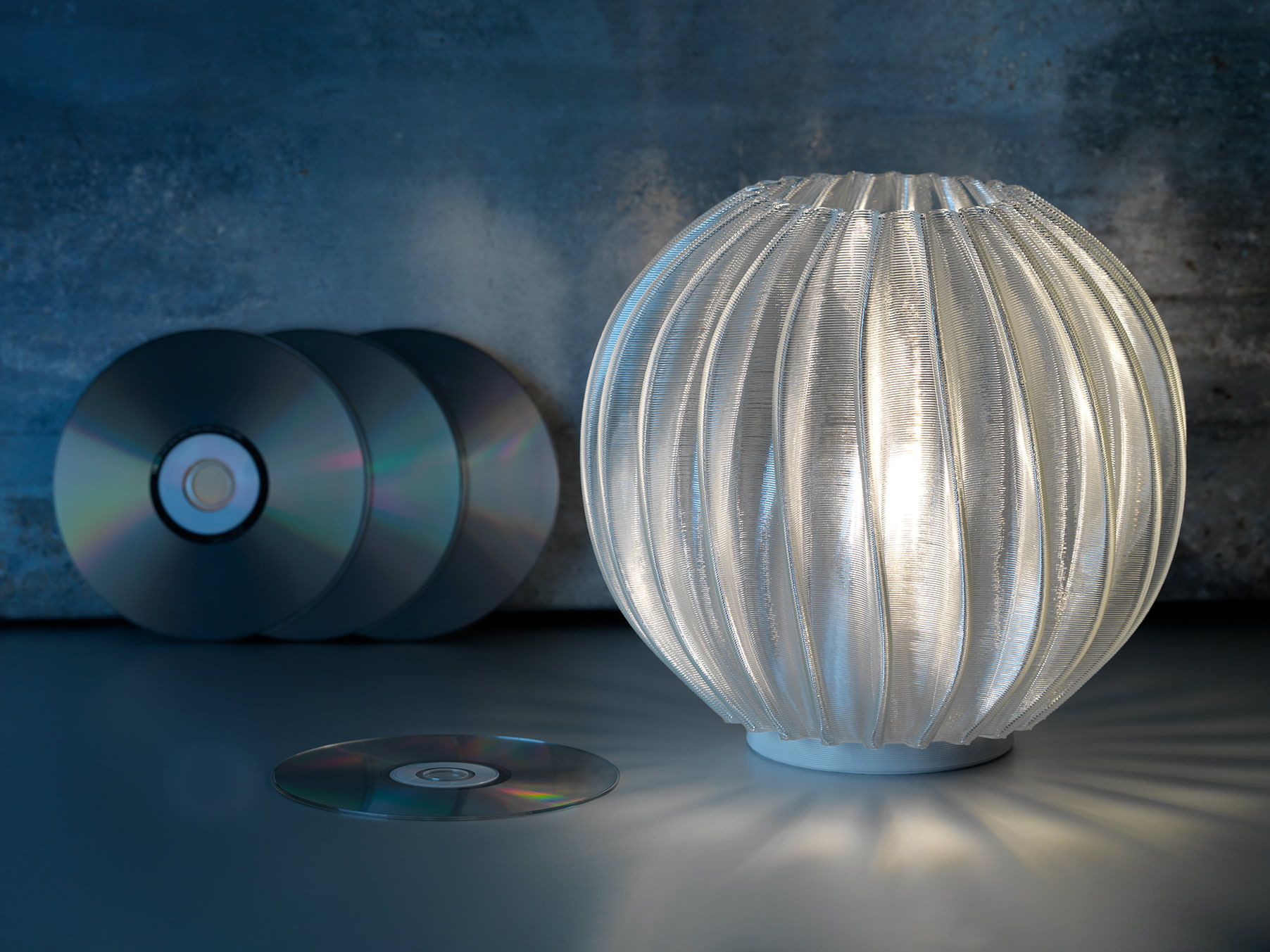 Signify Goes Circular by 3D Printing Custom Light Fixtures From Recycled CDs