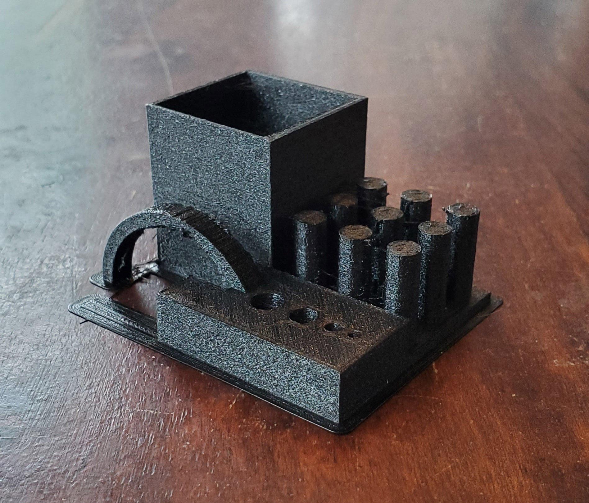 TPU 3D printer torture test