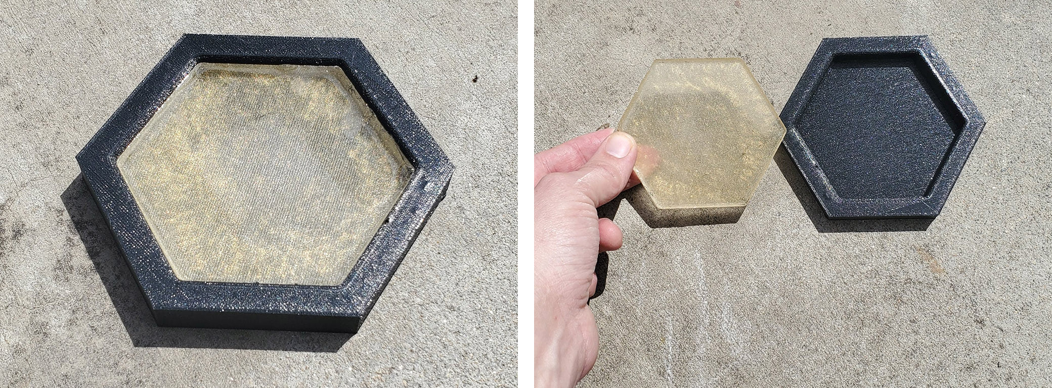 TPU epoxy mold