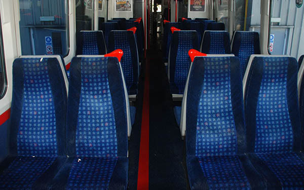UK Rail Companies 3D Print Train Seating Components
