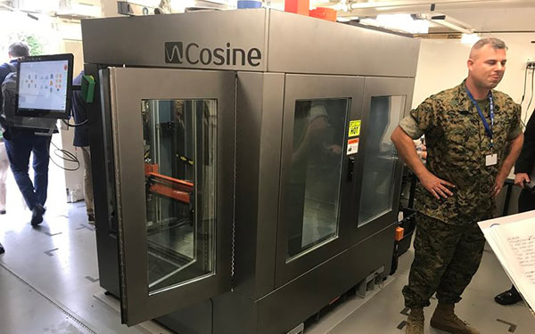 Use Case: US Marines Mobilize 3D Printing with Cosine