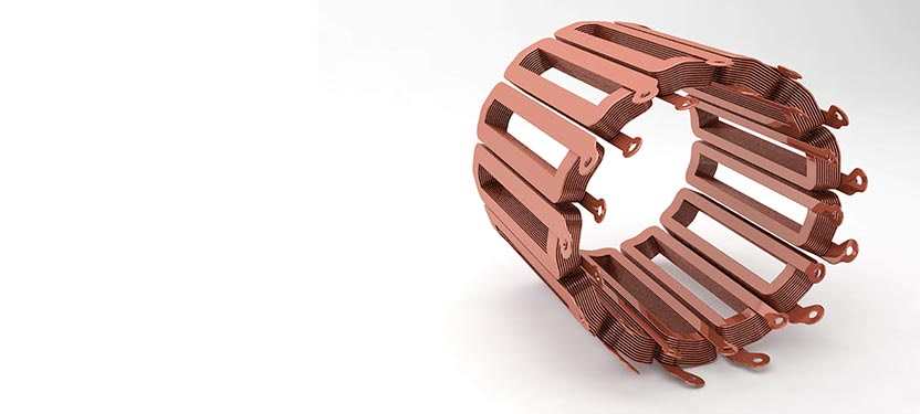 additive drives coil windings render