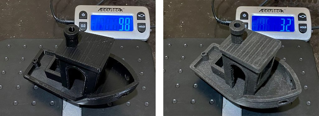 benchy weight pla