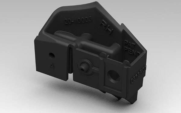 CRS 3D Printed Headlight Tab Repair Kit Verified by CAPA