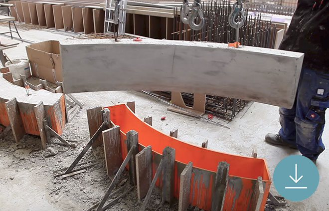 How Geiger Prints Molds for Concrete Casting