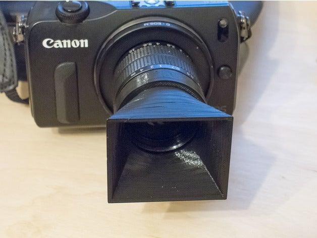 Camera Hood Functional print