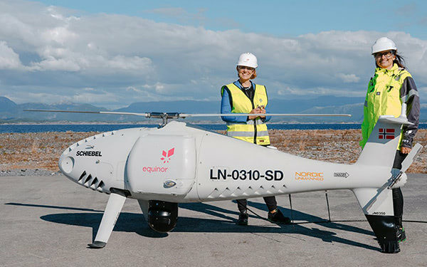 First 3D Printed Replacement Part Delivered to Offshore Platform via Drone