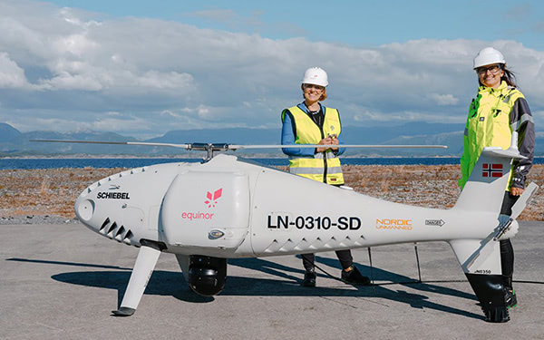 equinor drone 3d printed part featured