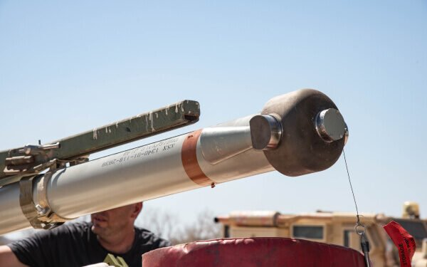 US Marines Print Metal Rocket Cap for Mine Clearance