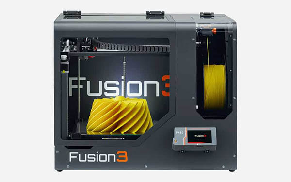 Professional 3D Printing With Fusion3's Certified Material List