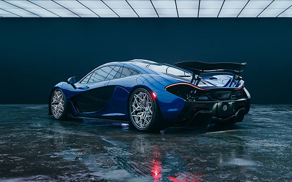 HRE Develops 3D Printed Titanium Wheels For McLaren P1
