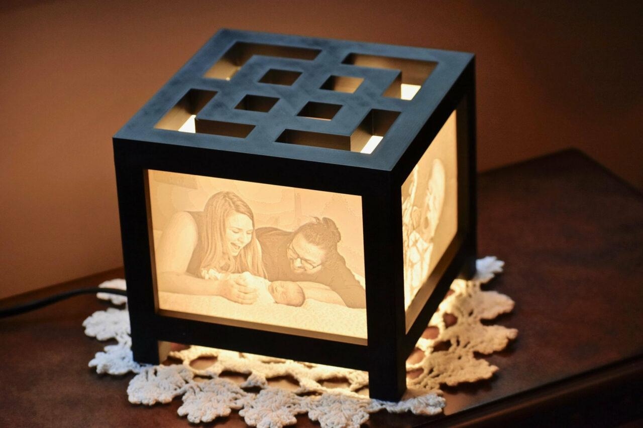 3d printed Lantern lamp picture