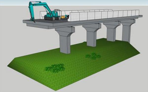 japan construction 3d printing bridge