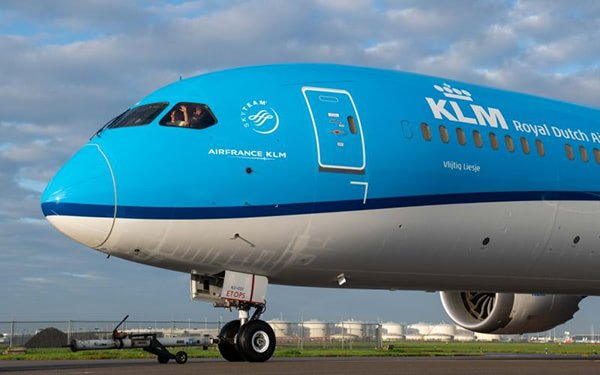 KLM Goes Circular by 3D Printing Tools from PET Bottles