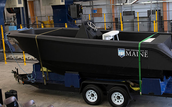 largest 3d printed boat umaine