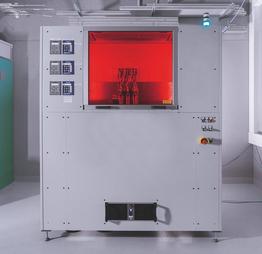 multi material jetting 3D printer