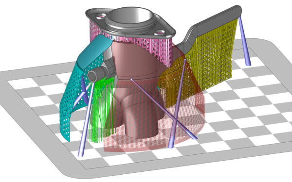Webinar: How to Reduce Metal 3D Printing Costs with a Reduced Support Strategy