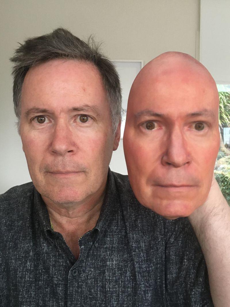 3d printed face olaf diegel