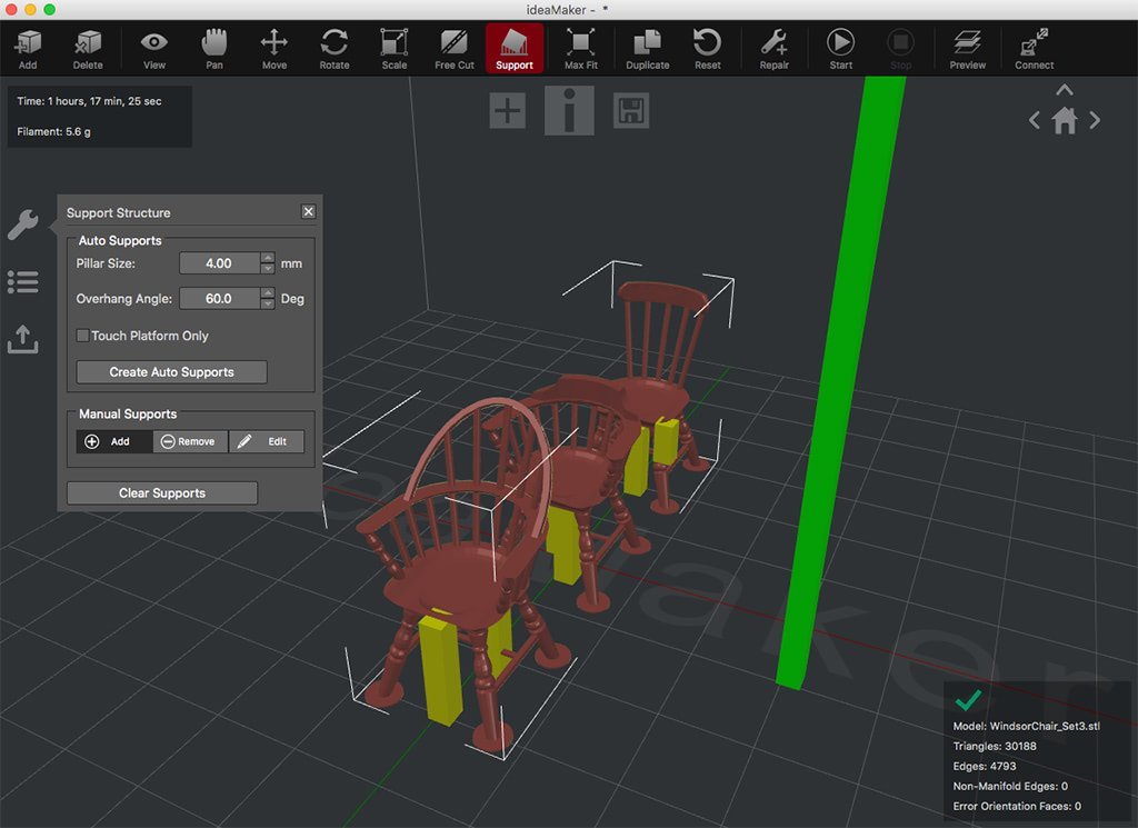 ideamaker raise3d slicer