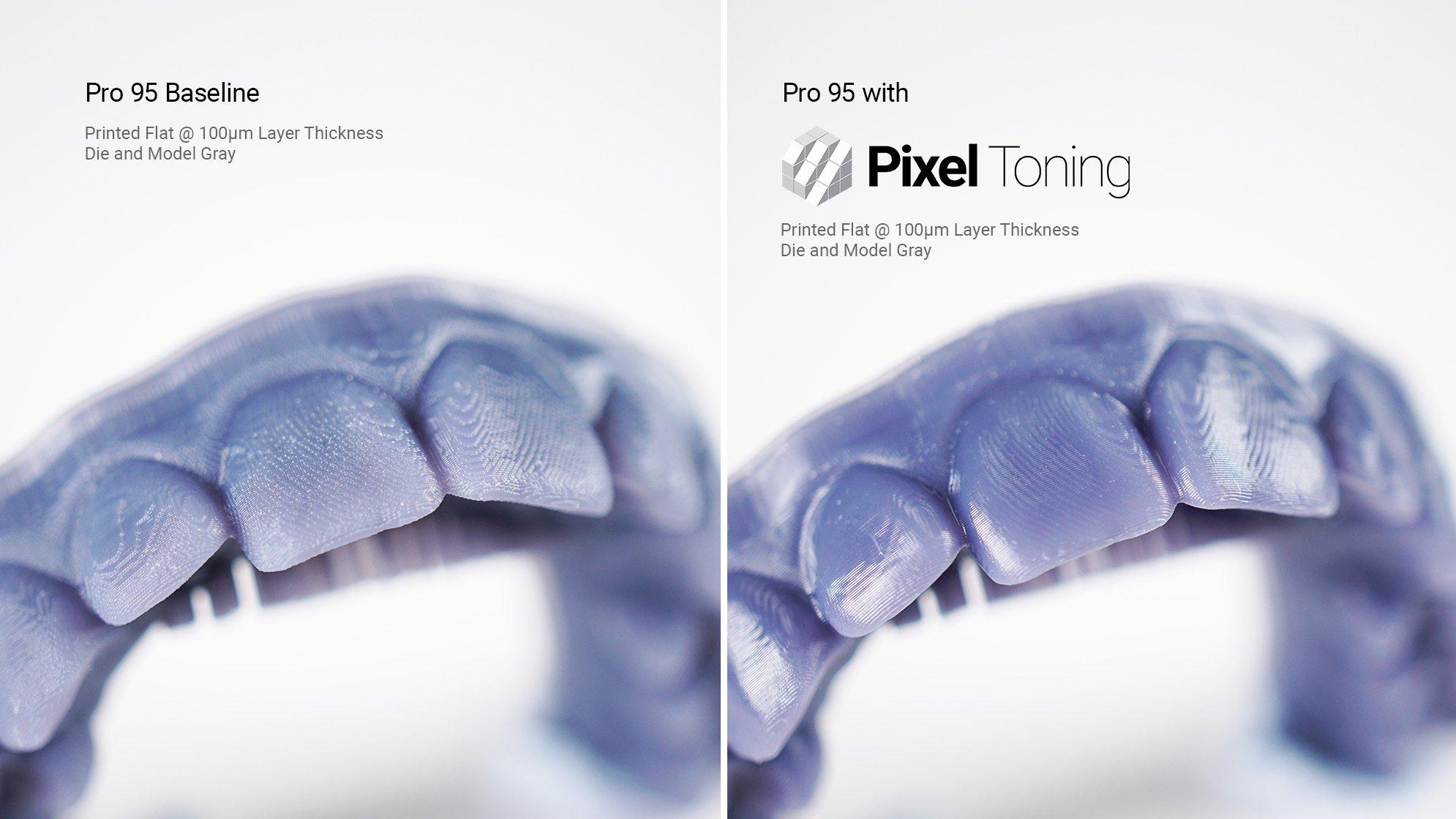 pixel toning