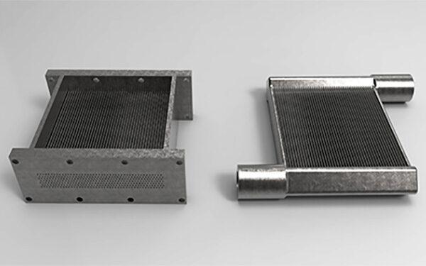 Military Eyes Topology Optimized Heat Exchangers