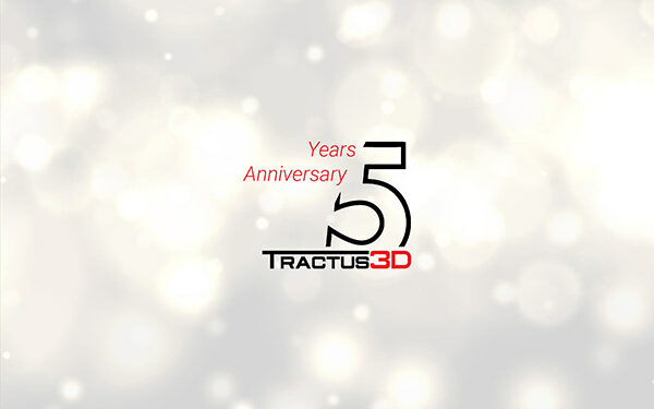 Tractus3D Celebrates 5 Year Anniversary With A Very Special Offer