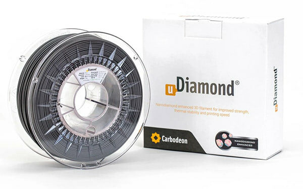 Hands-on Review: Carbodeon uDiamond PLA Filament