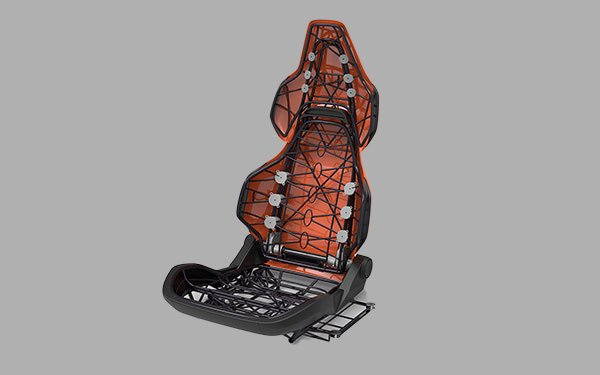 Combining AM Technologies For Ultra-Light Automotive Seating