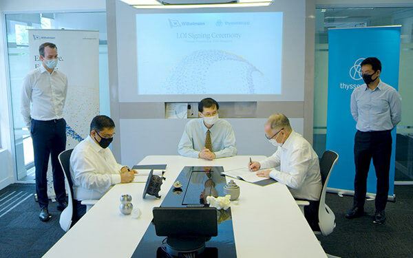 Wilhelmsen and thyssenkrupp to 3D Print Ship Spare Parts