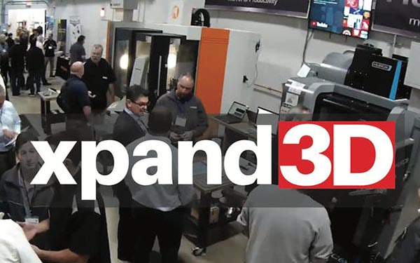 Register For The Xpand3D Manufacturing Event (October 15-17, Branchburg, NJ)