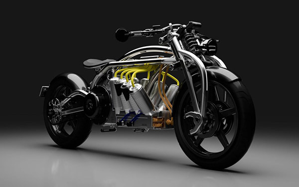 Curtiss Motorcycles Use Hybrid Manufacturing For Electric Bike